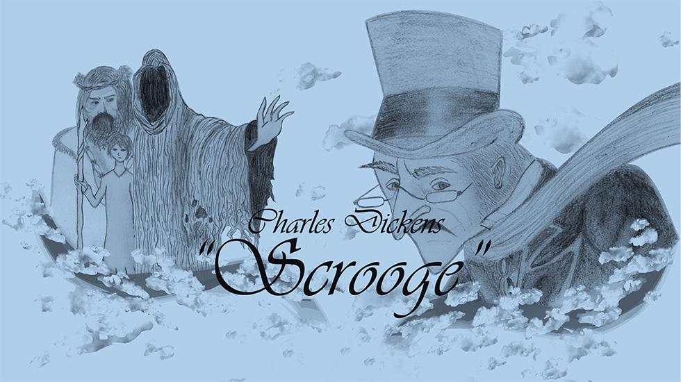 A3 Scrooge 8. Klasse Poster